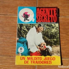 Tebeos: AGENTE SECRETO - Nº 23 - UN MALDITO JUEGO DE TRAIDORES - EDITORIAL FERMA. Lote 196311548