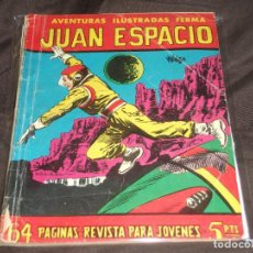 Tebeos: AVENTURAS ILUSTRADAS FERMA # 40 JUAN ESPACIO 64 PGS.. Lote 196672152