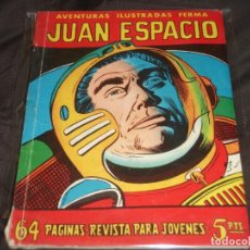 Tebeos: AVENTURAS ILUSTRADAS FERMA # 24 JUAN ESPACIO 64 PGS.. Lote 196672177