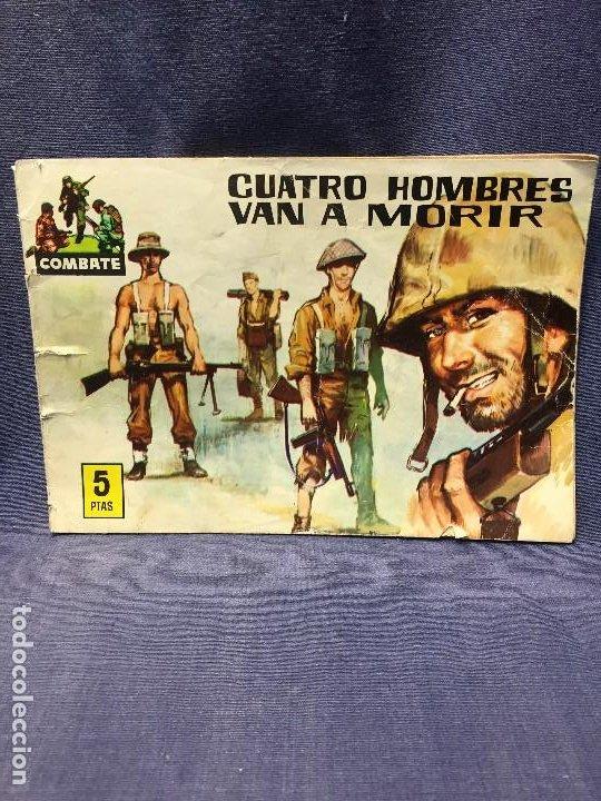 SERIE COMBATE EDIT FERMA CUATRO HOMBRES VAN A MORIR 16,5X24CMS (Tebeos y Comics - Ferma - Combate)