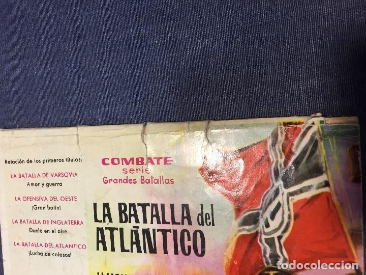 Tebeos: SERIE COMBATE EDIT FERMA CUATRO HOMBRES VAN A MORIR 16,5X24CMS - Foto 4 - 196818601