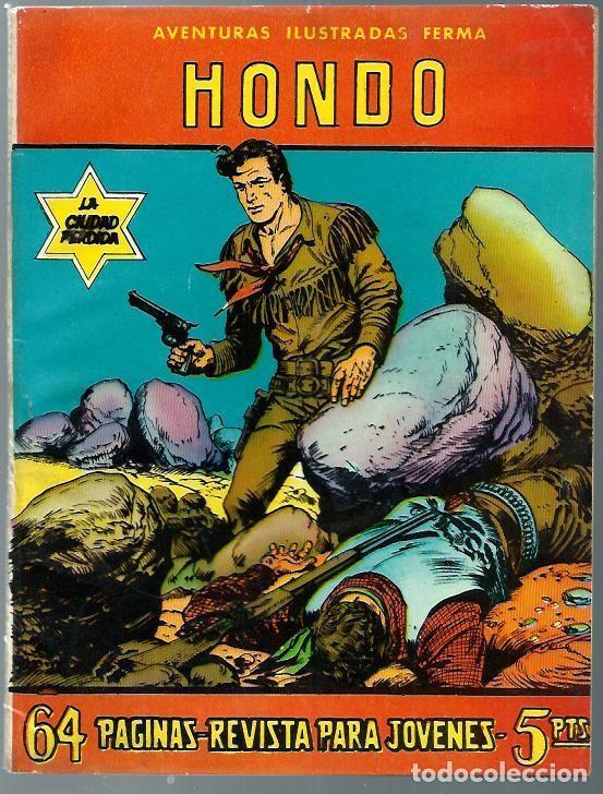 AVENTURAS ILUSTRADAS FERMA Nº 85 - HONDO - LA CIUDAD PERDIDA - FERMA 1958 - MUY BIEN CONSERVADO (Tebeos y Comics - Ferma - Aventuras Ilustradas)