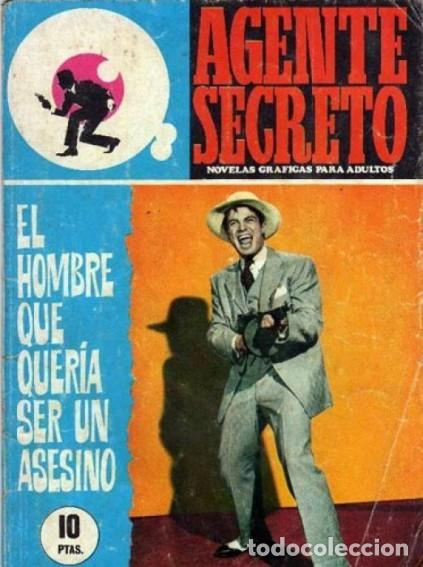 AGENTE SECRETO-FERMA- Nº 35 -EL HOMBRE QUE QUERÍA SER UN ASESINO-1967-GRAN ARMANDO-BUENO-LEAN-3280 (Tebeos y Comics - Ferma - Agente Secreto)