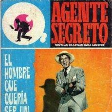 Tebeos: AGENTE SECRETO-FERMA- Nº 35 -EL HOMBRE QUE QUERÍA SER UN ASESINO-1967-GRAN ARMANDO-BUENO-LEAN-3280. Lote 197310250