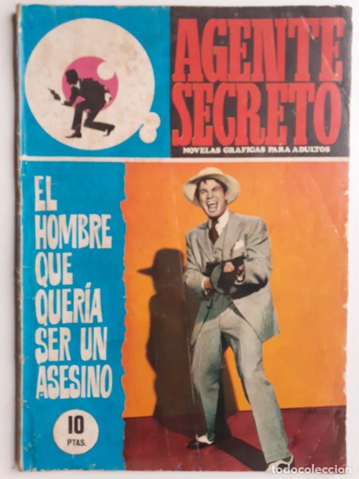 Tebeos: AGENTE SECRETO-FERMA- Nº 35 -EL HOMBRE QUE QUERÍA SER UN ASESINO-1967-GRAN ARMANDO-BUENO-LEAN-3280 - Foto 2 - 197310250