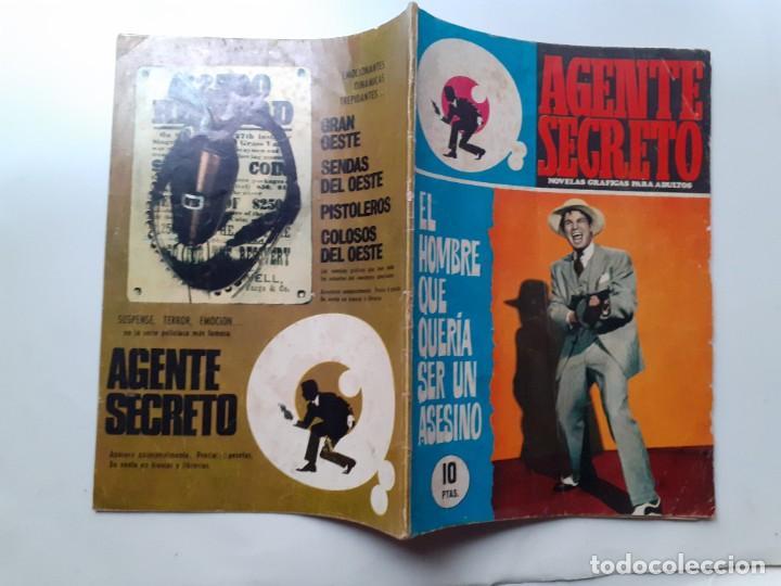 Tebeos: AGENTE SECRETO-FERMA- Nº 35 -EL HOMBRE QUE QUERÍA SER UN ASESINO-1967-GRAN ARMANDO-BUENO-LEAN-3280 - Foto 3 - 197310250