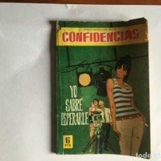 Tebeos: COMIC COLECCION DAMITA SERIE CONFIDENCIAS Nº 408 AÑO 1962 EDITORIAL FERMA. Lote 197550128