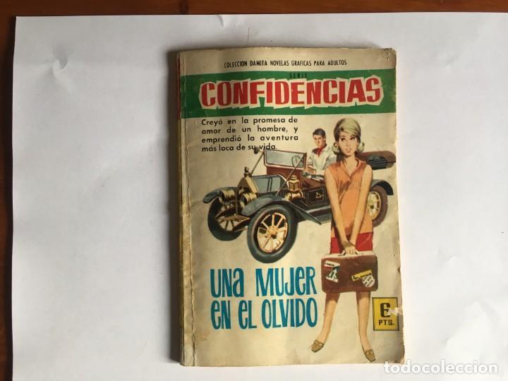 NOVELA GRAFICA COLECCION DAMITA COMIC SERIE CONFIDENCIAS Nº377 AÑO 1966 EDITORIAL FERMA (Tebeos y Comics - Ferma - Otros)