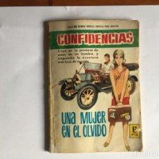 Tebeos: NOVELA GRAFICA COLECCION DAMITA COMIC SERIE CONFIDENCIAS Nº377 AÑO 1966 EDITORIAL FERMA. Lote 197550471
