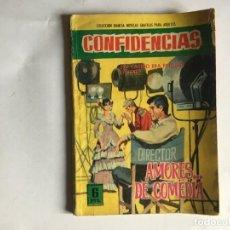 Tebeos: COMIC COLECCION DAMITA SERIE CONFIDENCIAS Nº 378 AÑO 1966 EDITORIAL FERMA. Lote 197551216