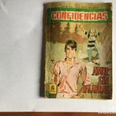Tebeos: NOVELA GRAFICA COMIC COLECCION DAMITA SERIE CONFIDENCIAS Nº 398 AÑO 1967 EDITORIAL FERMA. Lote 197551911