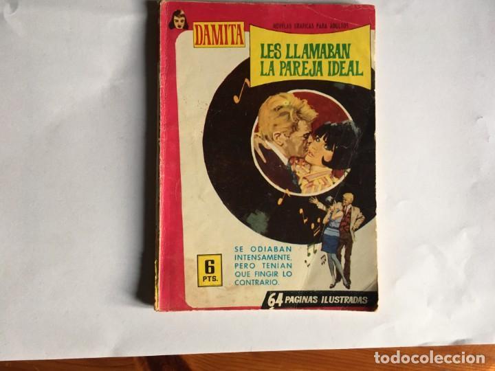 NOVELA GRAFICA ROMANTICA COMIC DAMITA Nº 421 AÑO 1967 EDITORIAL FERMA , (Tebeos y Comics - Ferma - Otros)