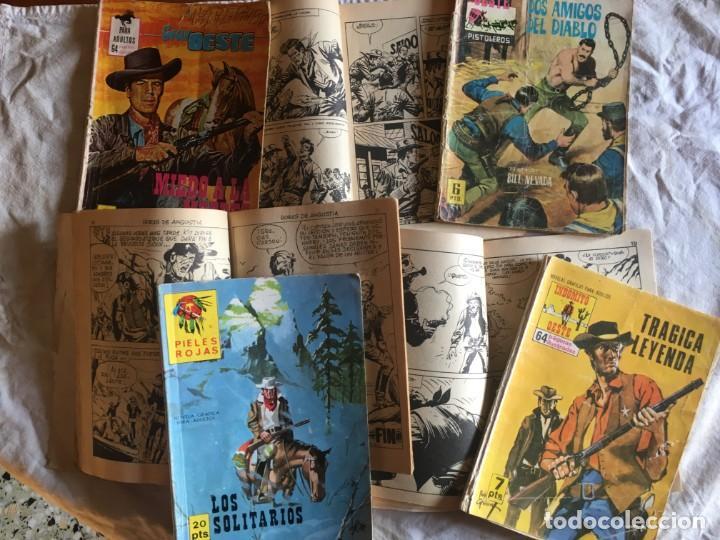COMIC DEL OESTE,LOTE 7 NOV. TRAMPA, INDOMITO OESTE,SALVAJE TRAMPA,PIELES ROJAS,GRAN OESTE, (Tebeos y Comics - Ferma - Otros)