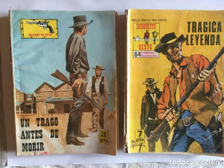 Tebeos: comic del oeste,lote 7 nov. trampa, indomito oeste,salvaje trampa,pieles rojas,gran oeste, - Foto 3 - 197655351