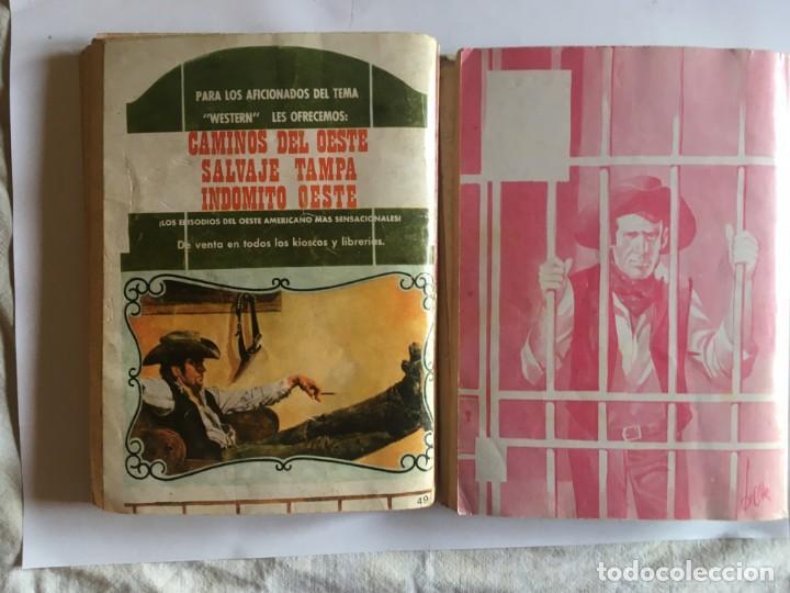 Tebeos: comic del oeste,lote 7 nov. trampa, indomito oeste,salvaje trampa,pieles rojas,gran oeste, - Foto 8 - 197655351