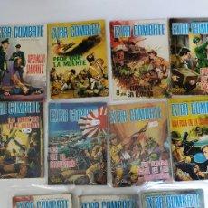 Livros de Banda Desenhada: EXTRA COMBATE, 11 NUMEROS 21,22, 26, 31, 36. 53, 55, 56,62, 64 Y 66. Lote 197900247