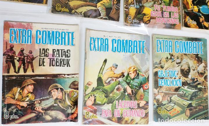 Tebeos: Extra Combate, 11 numeros 21,22, 26, 31, 36. 53, 55, 56,62, 64 y 66 - Foto 4 - 197900247
