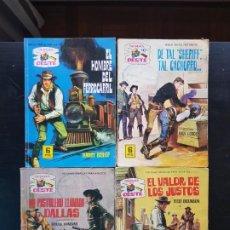 Tebeos: LOTE 4 NOVELAS / TEBEOS / CÓMIC COLECCIÓN SENDAS DEL OESTE N 123-126-162-251 FERMA 1965. Lote 198776068