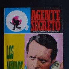 Tebeos: AGENTE SECRETO Nº 26 - LOS ANÓNIMOS - EDITORIAL FERMA. EXCELENTE ESTADO DE KIOSKO. Lote 198899013