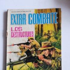 Tebeos: EXTRA COMBATE N°10 - LOS DESTRUCTORES. Lote 198910377