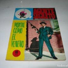 BDs: NOVELA GRÁFICA AGENTE SECRETO Nº 36 - MORTAL COMO EL VENENO - EDITORIAL FERMA AÑOS 60 -. Lote 199681422