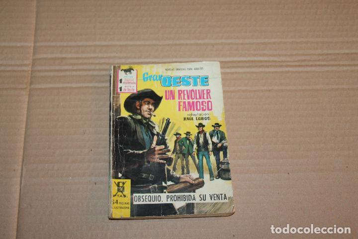 GRAN OESTE, UN REVÓLVER FAMOSO, NOVELA GRÁFICA, EXCLUSIVAS FERMA (Tebeos y Comics - Ferma - Gran Oeste)