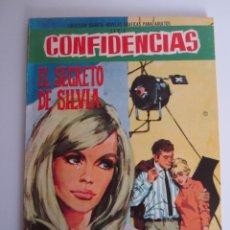 Tebeos: CONFIDENCIAS (1959, FERMA) 395 · 25-X-1967. Lote 199994616