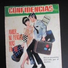 Tebeos: CONFIDENCIAS (1959, FERMA) 369 · 9-VIII-1967 ·. Lote 199994680