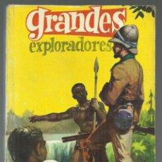 Tebeos: GRANDES EXPLORADORES. J. REPOLLES. EDITORIAL FERMA, 1963 ILUSTRADO. Lote 201536333