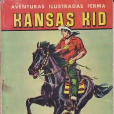 Tebeos: COMIC COLECCION KANSAS KID Nº EDITORIAL FERMA . Lote 202434641