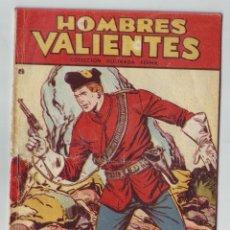 Tebeos: HOMBRES VALIENTES - COLECCION ILUSTRADA FERMA - DICK DARING, EL ULTIMATUM -Nº 19- AÑO 1958-ORIGINAL. Lote 203407595