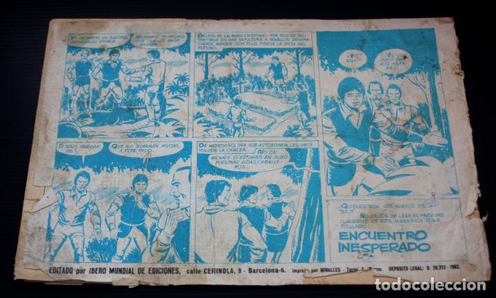 Tebeos: El delfin negro nº130:Ajuste de Cuentas (coleccion MONITOR) - IBERO MUNDIAL 1962_Muy dificil - Foto 2 - 204077622