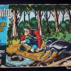Tebeos: EL DELFIN NEGRO Nº130:AJUSTE DE CUENTAS (COLECCION MONITOR) - IBERO MUNDIAL 1962_MUY DIFICIL. Lote 204077622