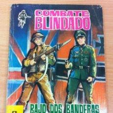 Tebeos: COLECCIÓN COMBATE BLINDADO Nº 121 - BAJO DOS BANDERAS. CONTRAPORTADA HONOR BLACKMAN. EDITORIAL FERMA. Lote 101359727