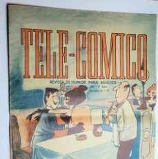 Tebeos: TELE-COMICO REVISTA DE HUMOR PARA ADULTOS *** EDITORIAL FERMA AÑO I 1ª ÉPOCA 1965. Lote 205647222