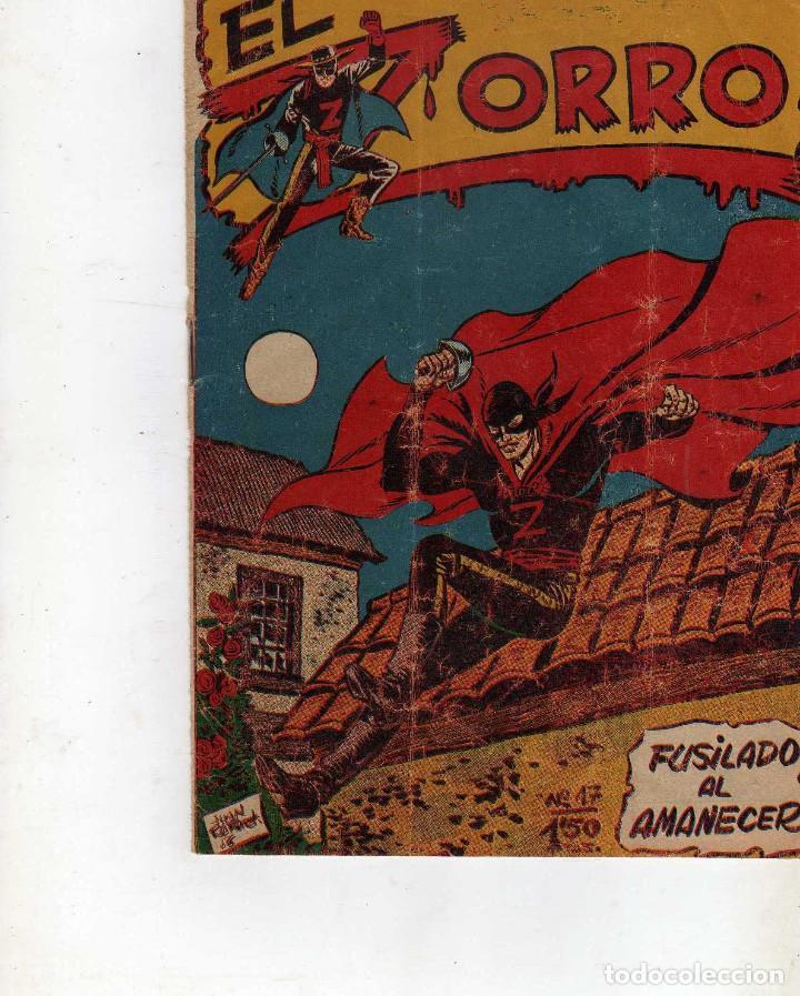 TEBEO EL ZORRO Nº 17, FERMA ORIGINAL (Tebeos y Comics - Ferma - Otros)