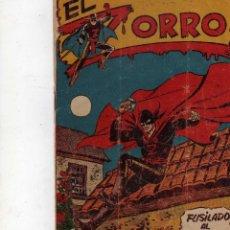 Tebeos: TEBEO EL ZORRO Nº 17, FERMA ORIGINAL. Lote 205802343