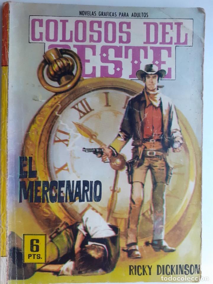 COLOSOS DEL OESTE-FERMA- Nº 75 -EL MERCENARIO-1965-A. REDONDO-MUY DIFÍCIL-BUENO-LEA-3505 (Tebeos y Comics - Ferma - Colosos de Oeste)