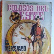 Tebeos: COLOSOS DEL OESTE-FERMA- Nº 75 -EL MERCENARIO-1965-A. REDONDO-MUY DIFÍCIL-BUENO-LEA-3505. Lote 207317415