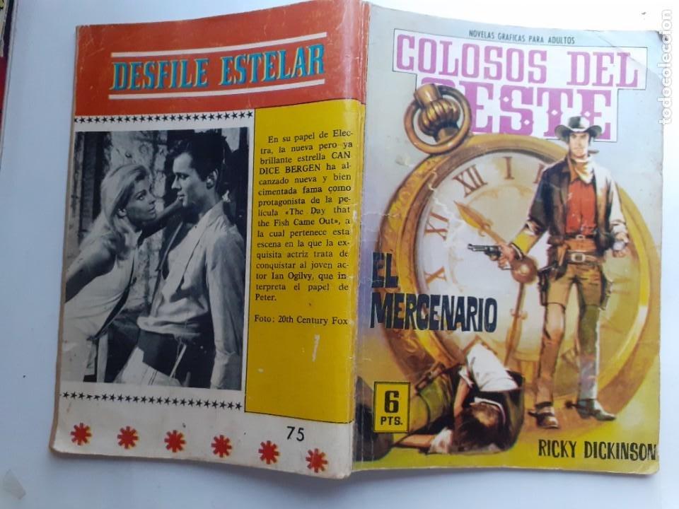 Tebeos: COLOSOS DEL OESTE-FERMA- Nº 75 -EL MERCENARIO-1965-A. REDONDO-MUY DIFÍCIL-BUENO-LEA-3505 - Foto 2 - 207317415