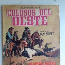 Tebeos: COLOSOS DEL OESTE-FERMA- Nº 91 -CUATRO RATAS A CABALLO- 1965-A. REDONDO-MUY DIFÍCIL-BUENO-LEA-3506. Lote 207319597