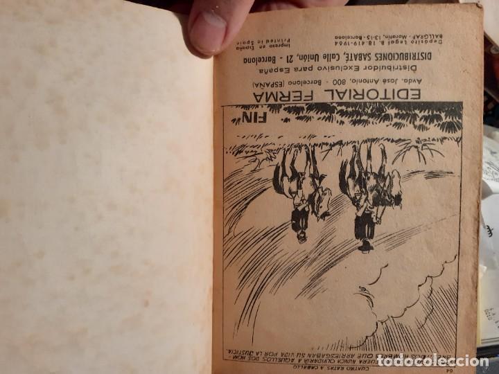 Tebeos: COLOSOS DEL OESTE-FERMA- Nº 91 -CUATRO RATAS A CABALLO- 1965-A. REDONDO-MUY DIFÍCIL-BUENO-LEA-3506 - Foto 5 - 207319597