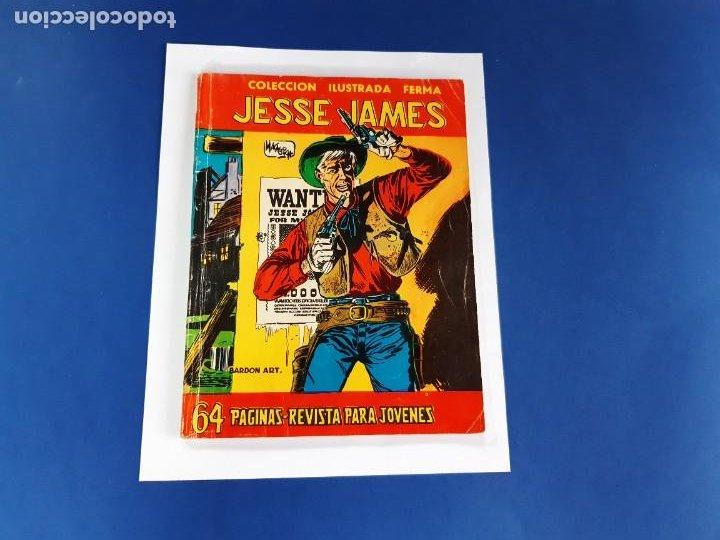 JESSE JAMES S/Nº FERMA 1958 BUEN ESTADO Y DIFÍCIL-68 PAG. (Tebeos y Comics - Ferma - Aventuras Ilustradas)