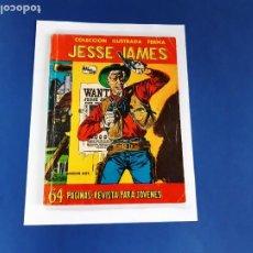 Tebeos: JESSE JAMES S/Nº FERMA 1958 BUEN ESTADO Y DIFÍCIL-68 PAG.. Lote 207470001