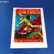 Tebeos: JUAN ESPACIO Nº 40 FERMA 1958. Lote 207472050