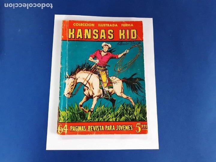 KANSAS KID Nº 83 FERMA 1958 (Tebeos y Comics - Ferma - Aventuras Ilustradas)