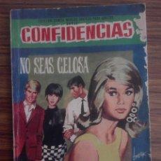Tebeos: 1967 NO SEAS CELOSA CONFIDENCIAS DE MUJER COLECCIÓN DAMITA NOVELAS GRAFICAS PARA ADULTOS 394 55G. Lote 208367397