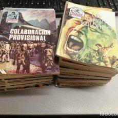 Tebeos: COMBATE / LOTE CON 30 NÚMEROS / PRODUCCIONES EDITORIALES 1976. Lote 186397867