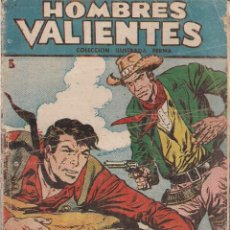 Tebeos: HOMBRES VALIENTES SERIE AZUL JESSE JAMES Nº 5: LA EMBOSCADA. Lote 208939266