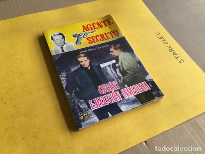 AGENTE SECRETO. LOTE DE 3 NUMEROS (VER DESCRIPCION) EDITORIAL FERMA AÑO 1966 (Tebeos y Comics - Ferma - Agente Secreto)